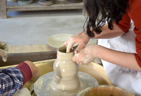 創陶園 作陶体験