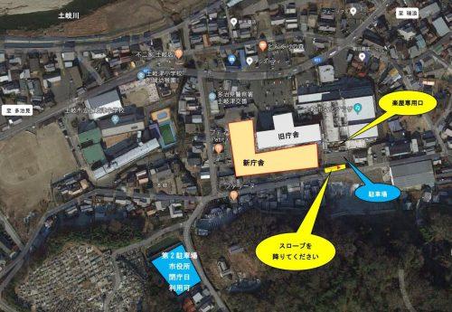 プラザ南側駐車場・第2駐車場(広域)