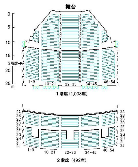 サンホール座席表